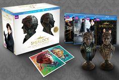 New Sherlock box set comes with slightly creepy Holmes and Watson busts