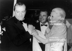 Luchino Visconti, Dirk Bogarde And Michele Morgan In Cannes In 1971