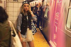 FW14 #Todomoda #BrooklynWinter ▶ NYC Style. Model: Paige Reifler, New York Models.