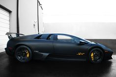 Matte Black Lamborghini Murcielago LP670-4 SV