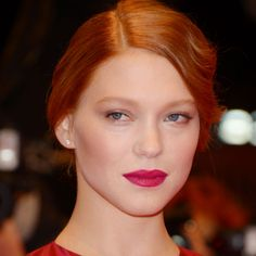 Be Bold with Lea Seydoux's Stunning Beauty Look - theFashionSpot