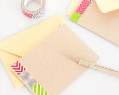 Pretty DIY Notecards | Yellow Brick Home