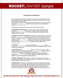 How To Draft A NonCompete Agreement ThatS Actually Enforceable