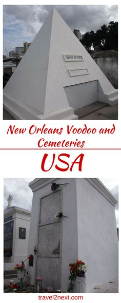 New Orleans Voodoo and Cemeteries. For a woman in her mid 70s she's surprisingly youthful.
