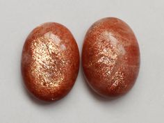 2Pcs 58Cts 18X25mm 100% Natural Sunstone Oval Shape Jewelry Making Handmade Hand Polish Cabochon Smooth Cut Pendant Making Gemstone by zakariyagems on Etsy