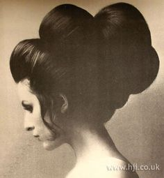 1969 brunette extensions hairstyle