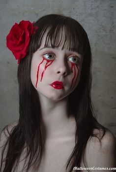 Creepy doll makeup - Halloween Costumes 2013