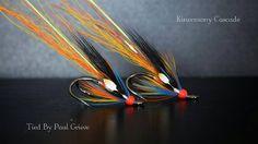 Couple of Kinermony Cascades sz 8, By PG Quality Flies