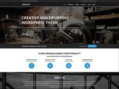 Have a look at Modality - a neat and elegant MultiPurpose Responsive WordPress Theme for any type of website. This is a responsive template so it fits all mobile devices. Reading Themes, Responsive Template, Clean Design, Lorem Ipsum, This Is Us, Cool Designs, Things To Come, Coding, Image