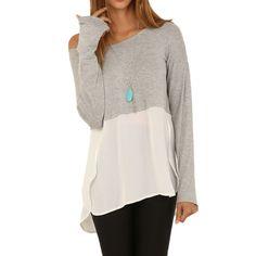 Women blouse 2015 chiffon blouse slash neck women tops fashion plus size long sleeve women shirts female blusas clothing