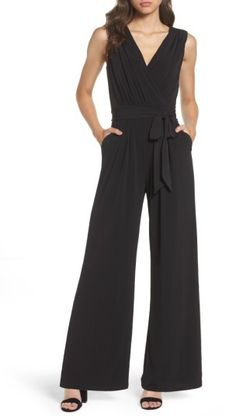 3bbad8d408b In LOVE with this Vince Camuto Faux Wrap Jersey Jumpsuit  jumpsuits  trendy   fallstyle