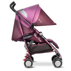 This Pop pram from Silvercross is the perfect mix of practicality and comfort. It's so light it can be lifted with one hand, and also has a completely retractable hood for full sun protection.