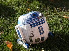 R2-D2 pumpkin!