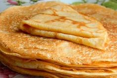 Receta Crepes - how to video Greek Desserts, Greek Recipes, Sweets Recipes, Cooking Recipes, Healthy Recipes, Crepe Sale, The Kitchen Food Network, French Crepes, Dinner For One