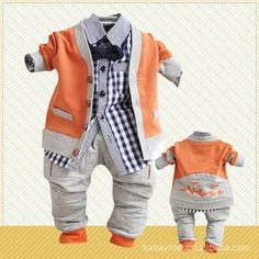 Online Shop 2014 New baby boy's suit,infant autumn British style tracksuits,toddler clothing boys 3 in 1 set (coat+shirt+pant)|Aliexpress Mobile