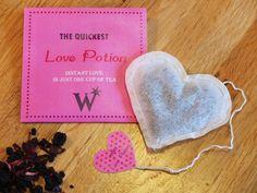 Love Potion Tea // Harry Potter Valentine's Day by TheGloomyLight, €6.00