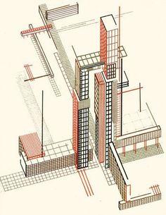 Яков Чернихов, «Архитектурные фантазии: 101 композиция» (1925-33) — Along with…
