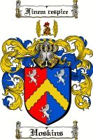 Hoskins Coat of Arms / Hoskins Family Crest