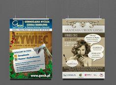 Projekty plakatów