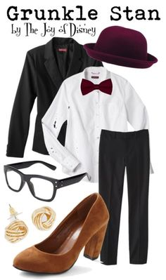 Outfit inspired by Grunkle Stan from Gravity Falls!