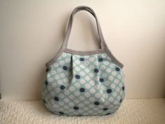 Japanese cotton fabric with splashed polka dots patterns