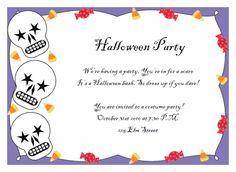 free printable halloween invitation templates printable halloween
