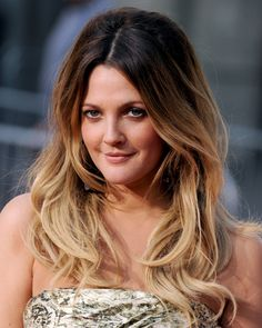 Drew Barrymore mit Two Tone Hair