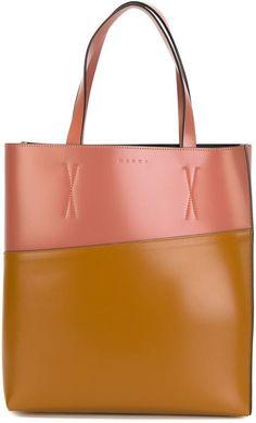 3c101ee65 Marni colour block shopper tote - ShopStyle