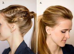 10 ways to dress up a ponytail #hair #ponytail #hairspiration