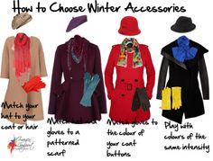 How to work together winter accessories.