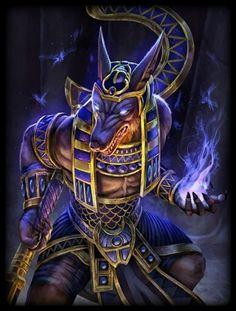 Anubis the Egyptian God Egyptian Mythology, Ancient Egyptian Art, Egyptian Goddess, Egyptian Symbols, Egypt Concept Art, Anubis Tattoo, Egypt Art, Gods And Goddesses, Mythical Creatures