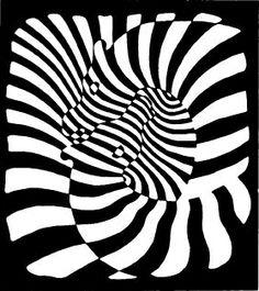 Vasarely - zebras