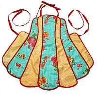 retro apron reminds me of my grandma.