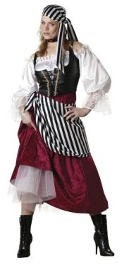 Women's Pirate Wench Costume