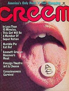 Humble Pie – Creem Magazine – The Uncool - The Official Site for Everything Cameron Crowe Vintage Rock, Vintage Music, Vintage Ads, Cleveland Concerts, Musical Mystery, Humble Pie, Farrah Fawcett, Music Magazines, Rockers