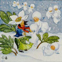 ida bohatta vintage miniature prints gift by daisychainvintage, $20.00