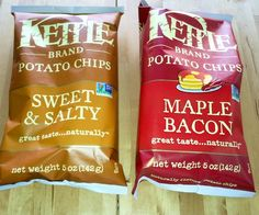 Color us obsessed with these new vegan chip flavors from Kettle Brand.