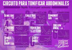 Circuito para tonificar abdominales - Fitness en Femenino