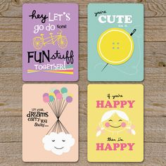 Fab.com | Happy Birthday Card Collection