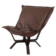 Howard Elliott Avanti Pecan Milan Puff Chair