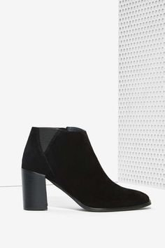 Jeffrey Campbell Soulman Boot - Black Suede