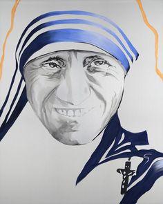 "Saint Teresa Original Painting 30"" x 36"""