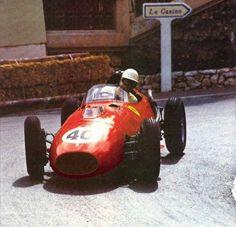Wolfgang von Trips (Ferrari) Grand Prix de Monaco 1958