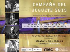 Cierre de la Campaña del Juguete 2015 en el CCE | cooltivarte.com