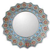 Found it at Wayfair - Novica Bluebells Mirror