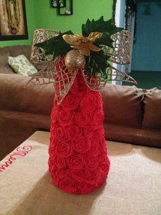 Árbol de crepe de Navidad