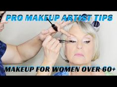 ▶ PRO MAKEUP TIPS- HOW TO DO MAKEUP ON WOMEN OVER 60 Hello fellow Beauty Finders! In this week's Beauty Tutorial I want to share with you a GORGEOUS MAKEUP DEMO FOR WOMEN OVER 60! Pay special attention to EYELIDS, EYELINER, PRIMER, SKIN WARMTH, and CHEEK COLOR SELECTION! If you live in LA and would like a personal one on one beauty lesson or makeup application then email me at mathias@mathias4mathias4makeup.com for my rates.