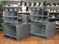 Resultado de imagen de altec 816 High End Speakers, Horn Speakers, Monitor Speakers, Audio Speakers, Audiophile Turntable, Altec Lansing, Speaker Box Design, Audio Room, Vinyl Storage