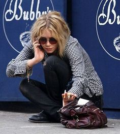 Mary-Kate Olsen Loves Her Balenciaga Bag |California Style