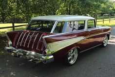 Check out the fins on this 1957 #Nomad. #Style #Design #Classic #Cool